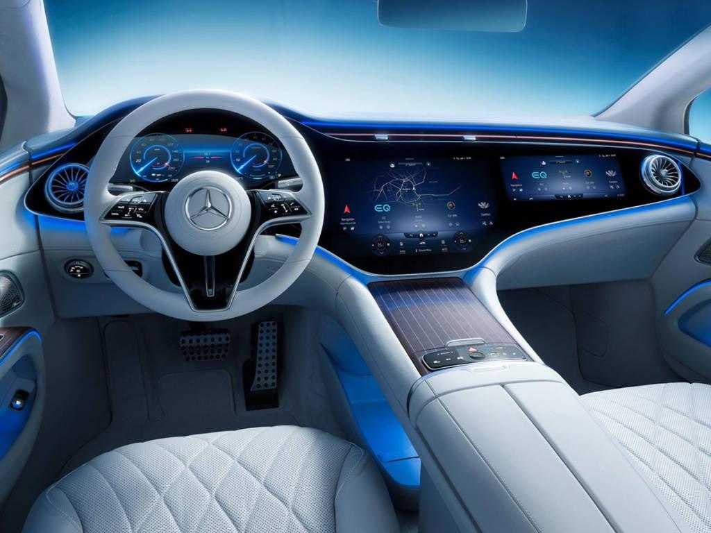 Mercedes-Benz EQS 2021 salpicadero