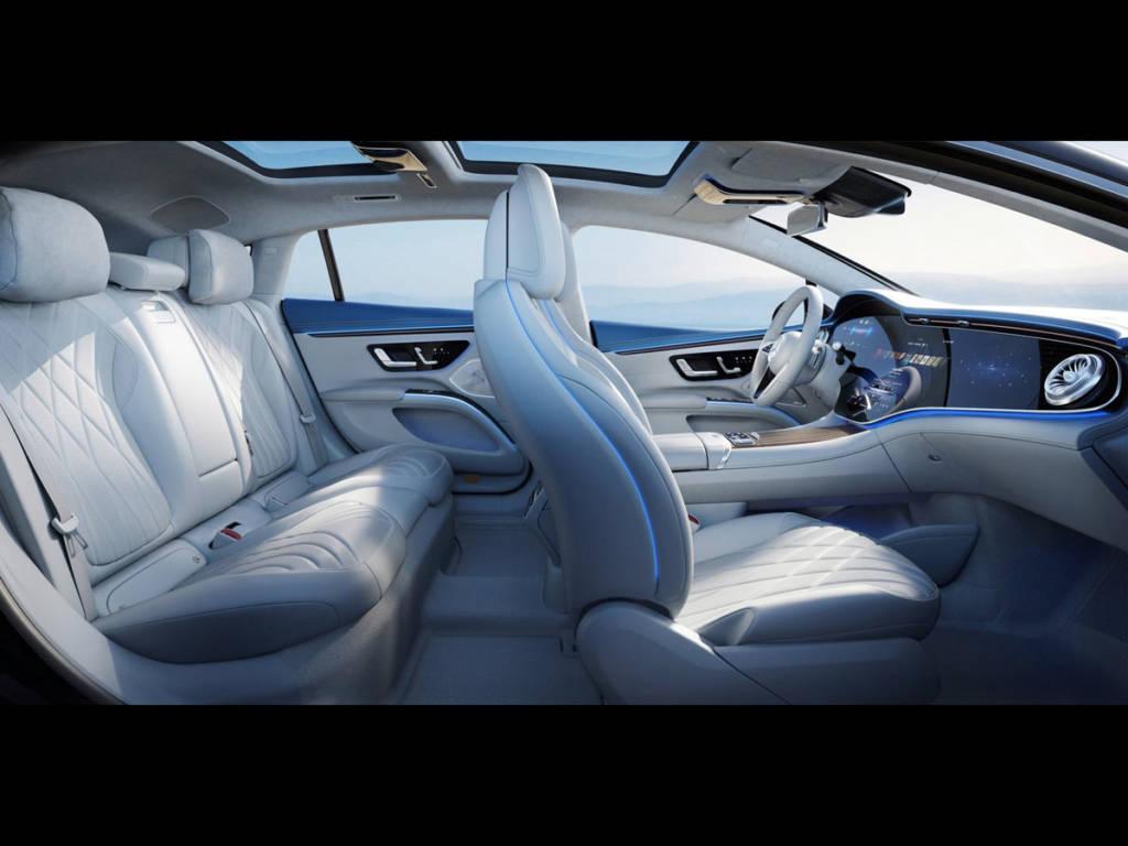 Mercedes-Benz EQS 2021 interior