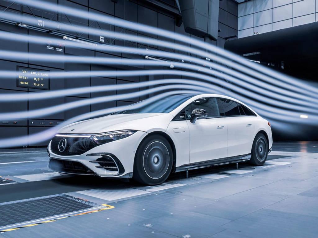 Mercedes-Benz EQS 2021 aerodinámica