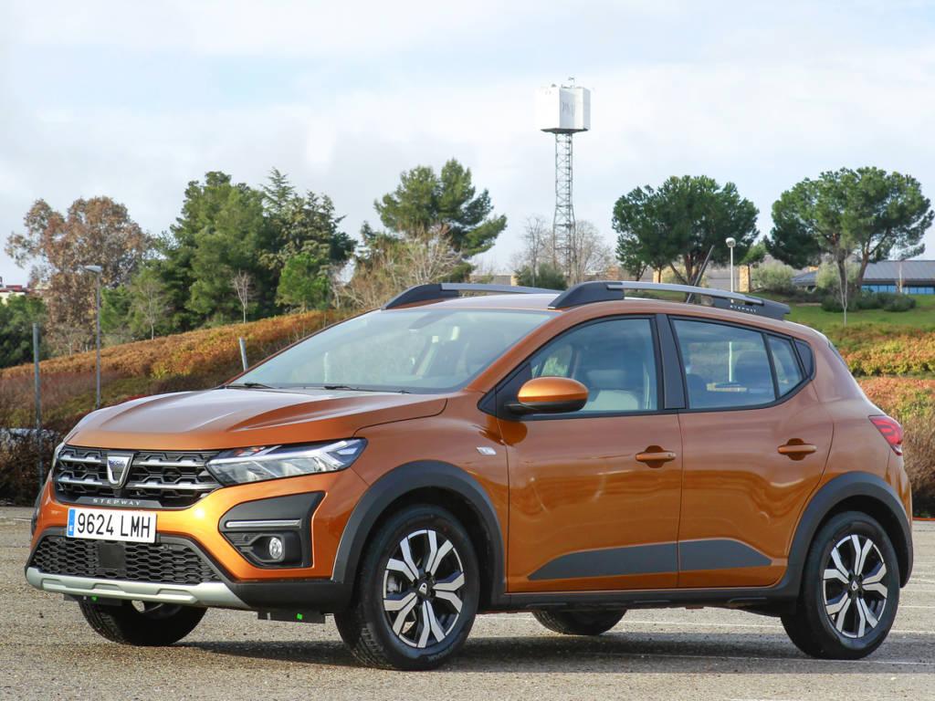 Dacia Sandero Steway tres cuartos frontal
