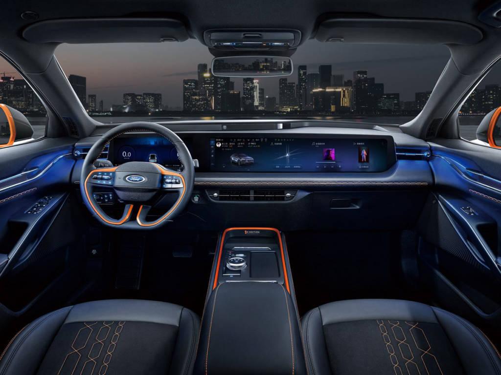 Ford Evos 2021 interior