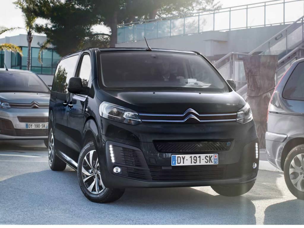 Citroën ë-SpaceTourer eléctrico talla M frontal