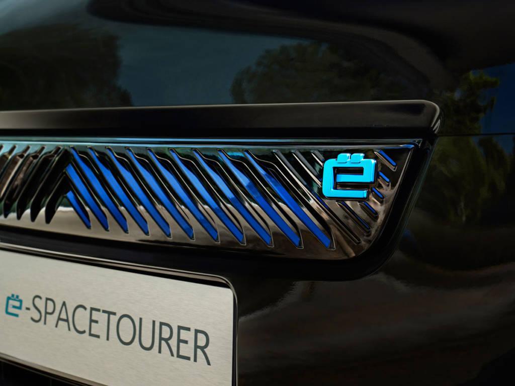 Citroën ë-SpaceTourer eléctrico parrilla ciega y logo