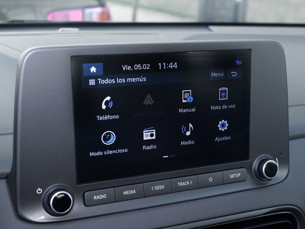 Hyundai Kona pantalla central