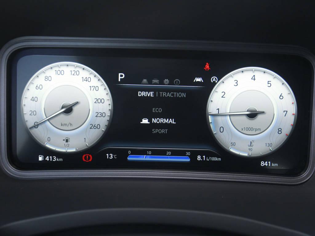 Hyundai Kona cuadro instrumentos Smart