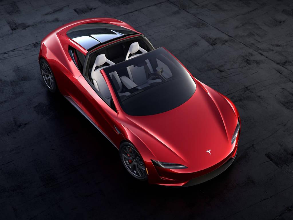 Tesla Roadster techo