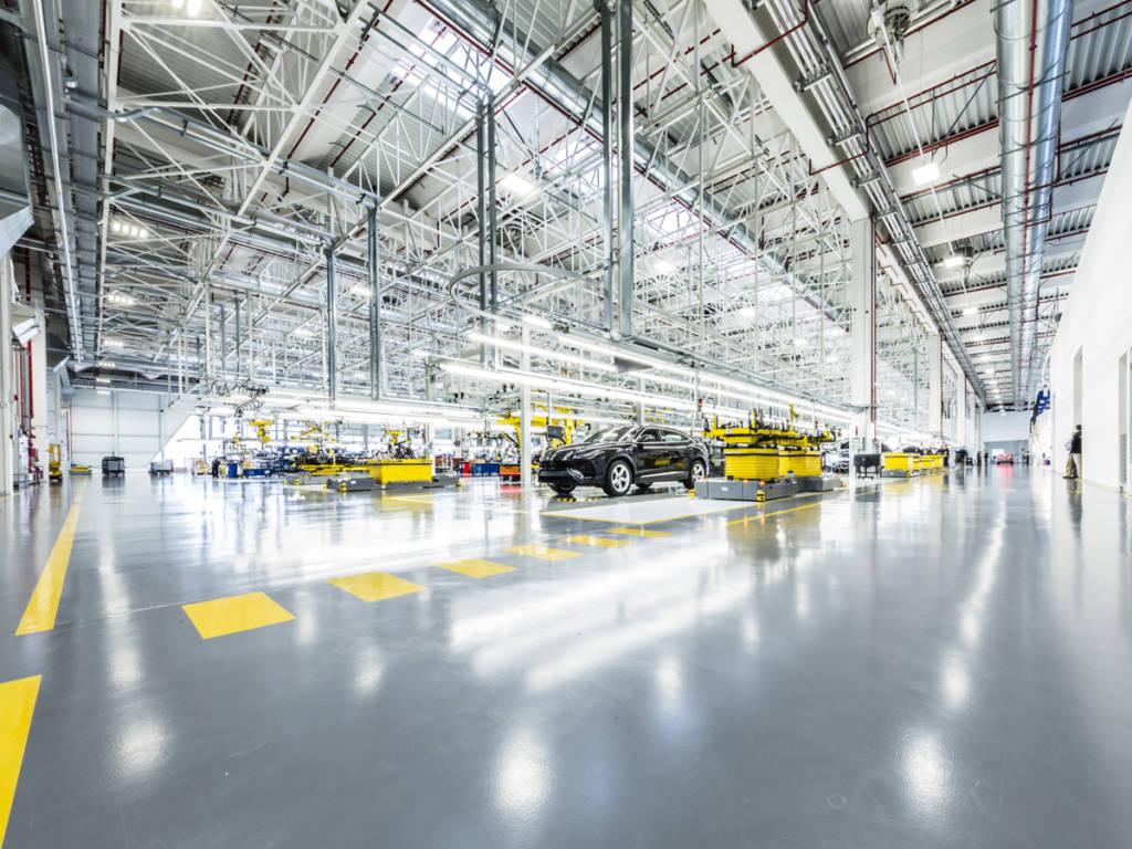 Lamborghini fábrica