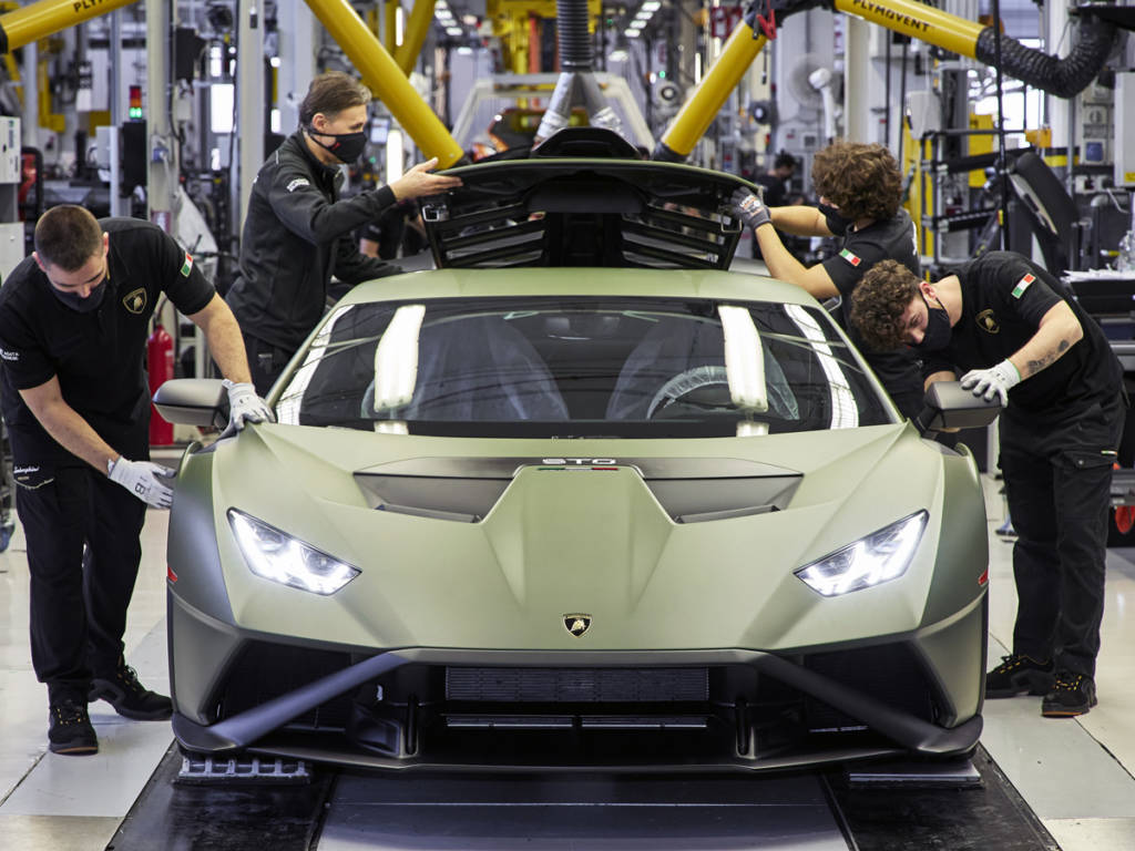 Lamborghini producción