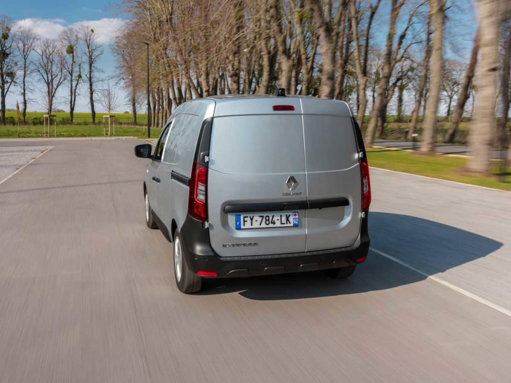 Renault Express 2021 trasera