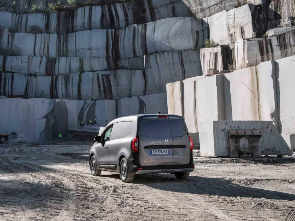 Renault Kangoo 2021 Van trasera