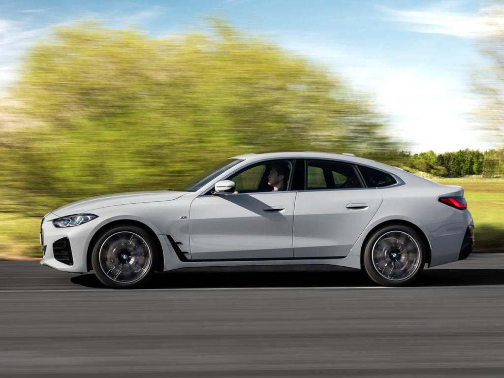 BMW Serie 4 Gran Coupé barrido lateral