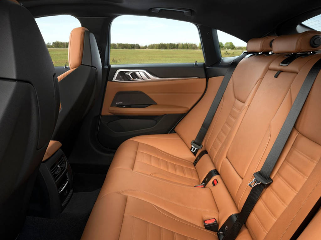 BMW Serie 4 Gran Coupé asientos traseros