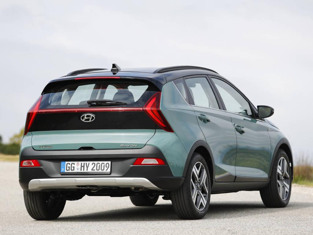 Hyundai Bayon zaga