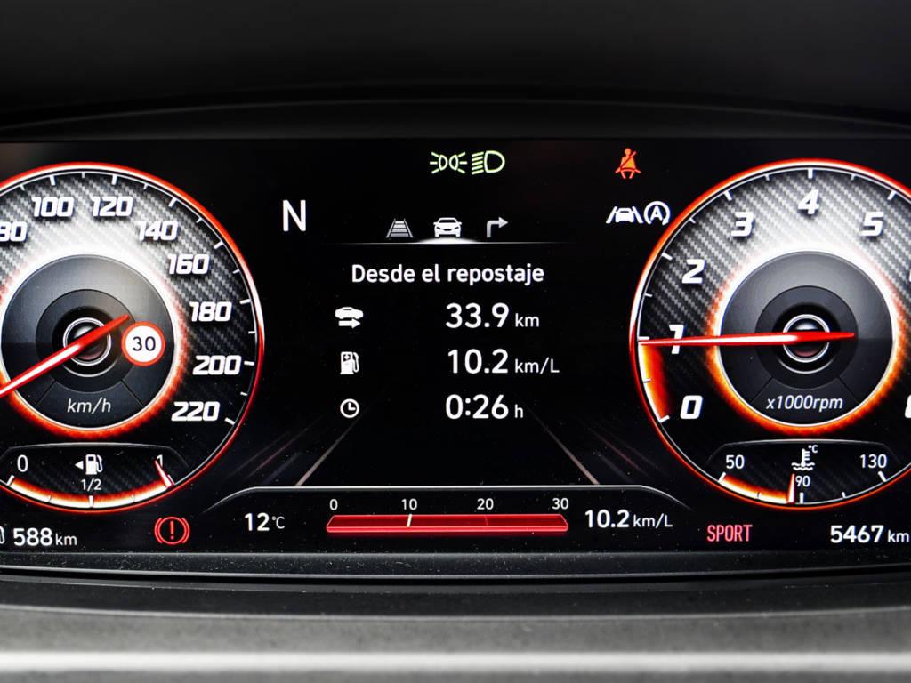 Hyundai Bayon cuadro digital Sport