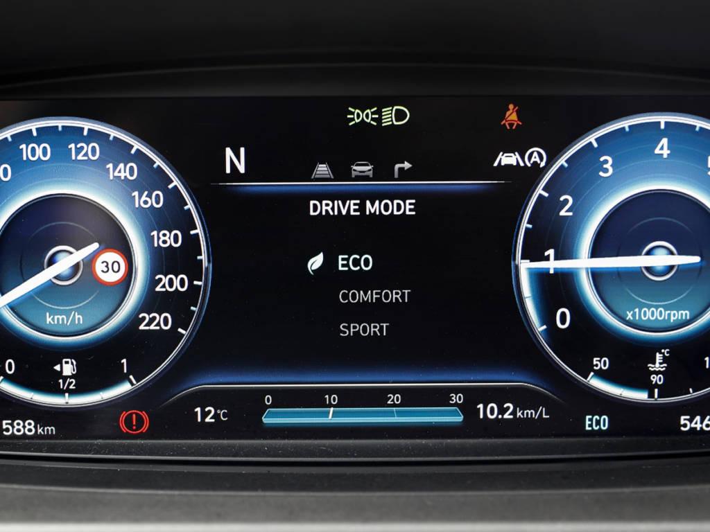 Hyundai Bayon cuadro digital eco