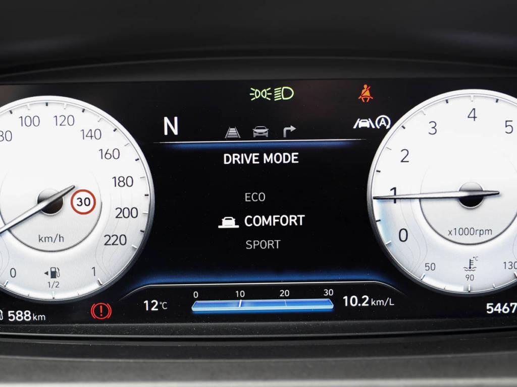 Hyundai Bayon cuadro digital normal