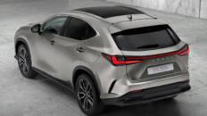 Lexus NX 2021 arriba