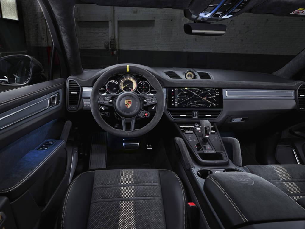 porsche cayenne turbo gt interior