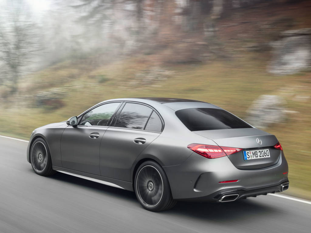 Mercedes-Benz Clase C 2021 sedán diseño trasera