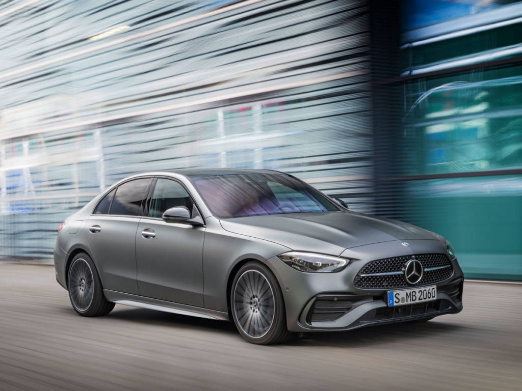 Mercedes-Benz Clase C 2021 diseño lateral