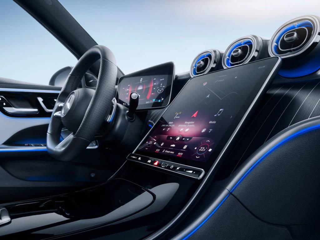 Mercedes-Benz Clase C 2021 sistema multimedia MBUX