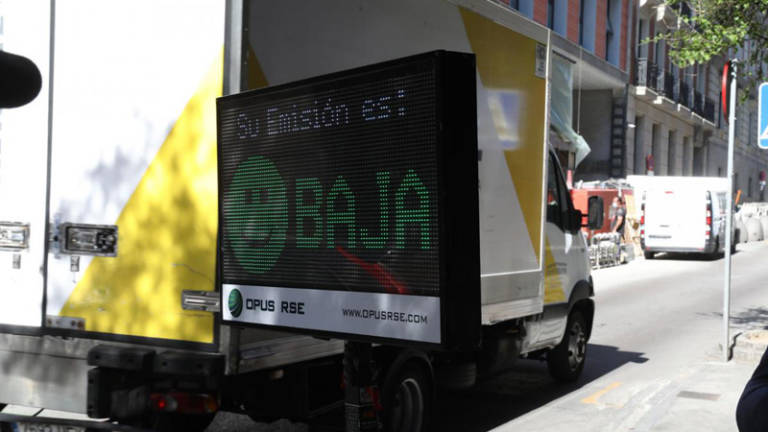 madrid radar bajas emisiones