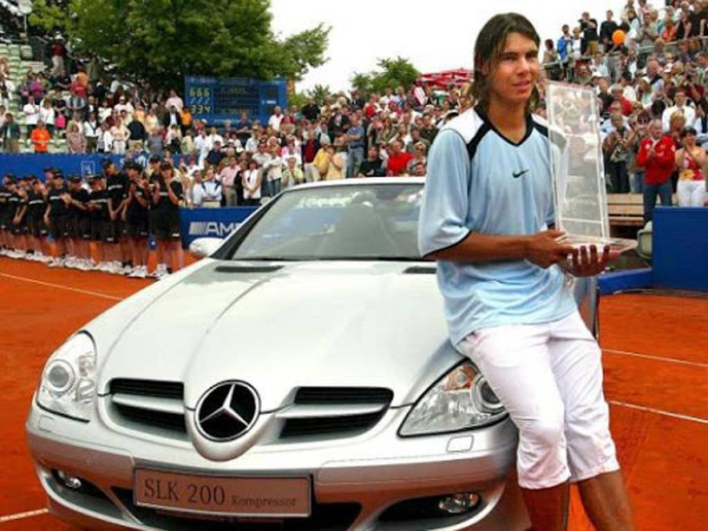 Rafa Nadal Mercedes-Benz SLK