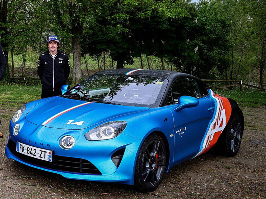 Fernando Alonso Alpine A110S
