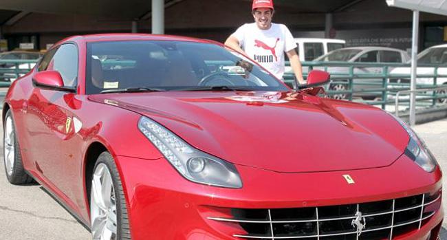 Fernando Alonso Ferrari FF
