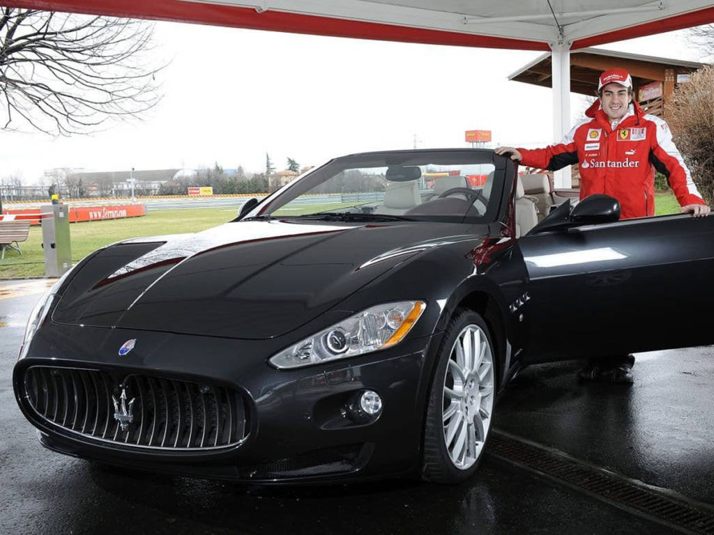 Fernando Alonso Maserati GranCabrio