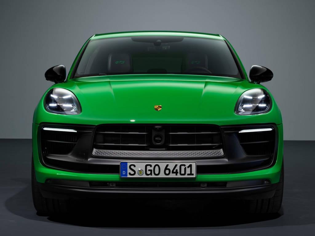 Porsche Macan 2022 frontal
