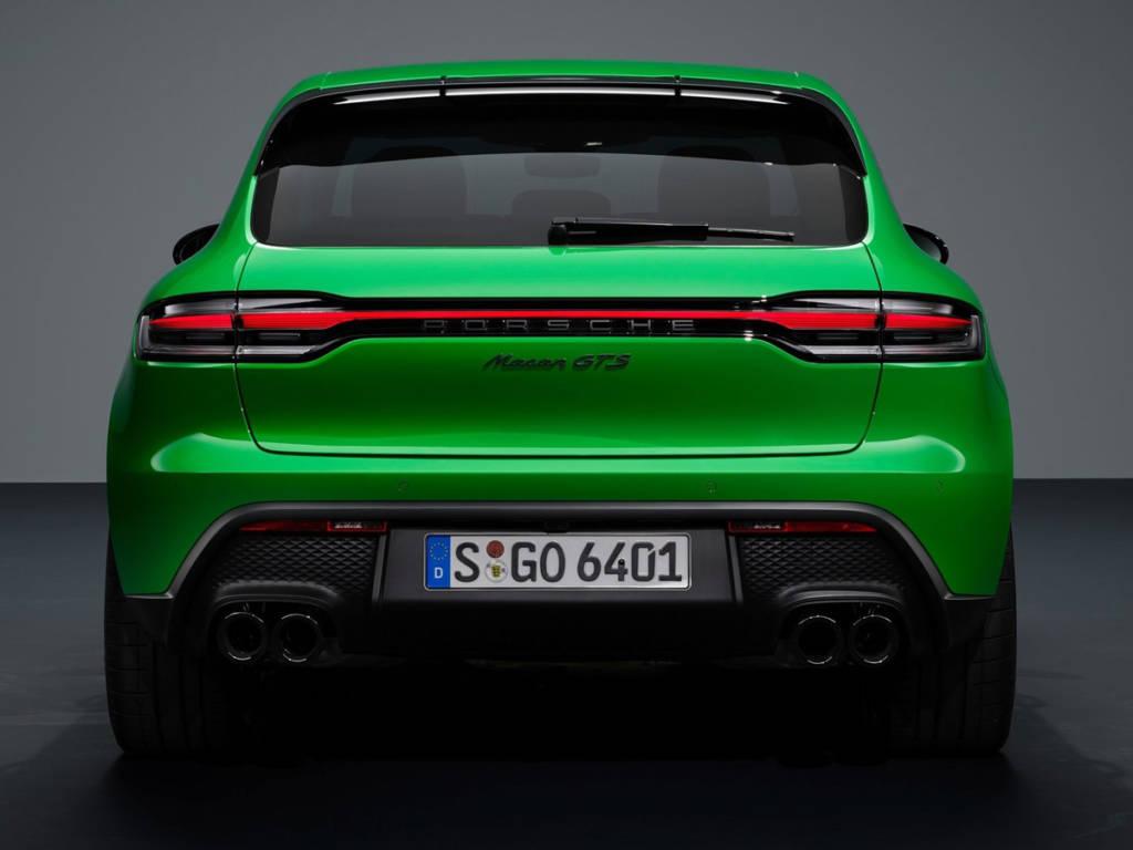 Porsche Macan 2022 trasera