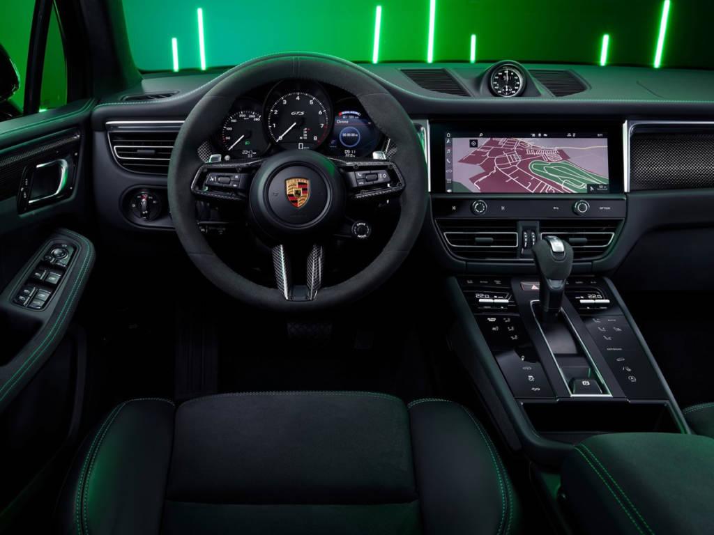 Porsche Macan 2022 salpicadero