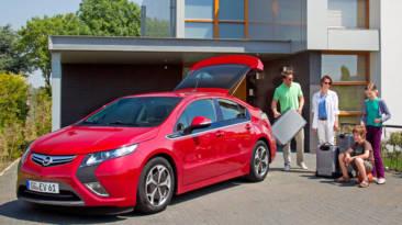 coche eléctrico viaje Opel Ampera